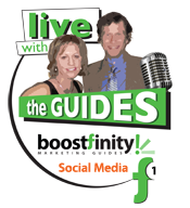 Boostfinity Live with the Guides on Social Media